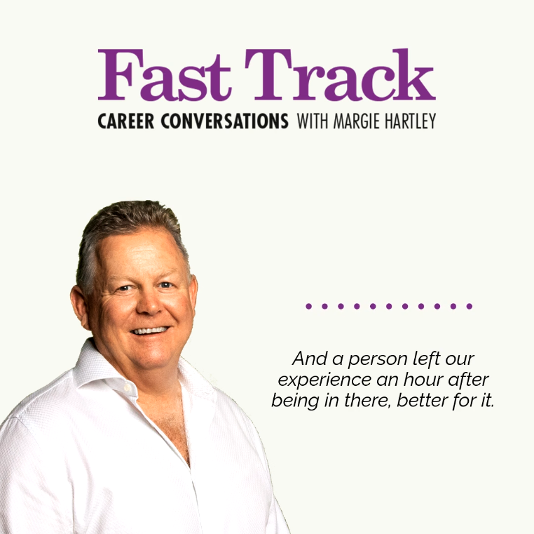 Career Conversations with Margie Hartley and CEO of Grande Experiences Bruce Peterson