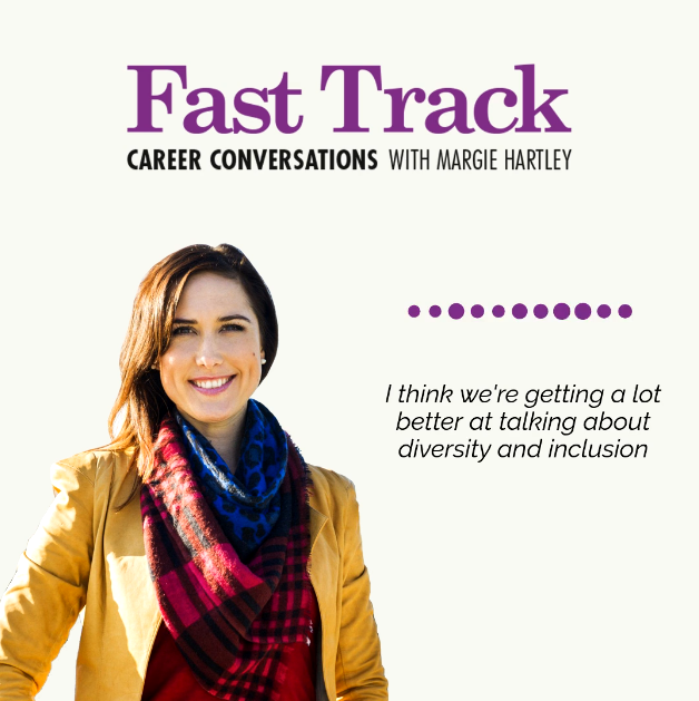 Career Conversations with Margie Hartley about diversity and inclusion